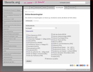 theorie.org-Register